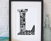 Best Of Leeds Screenprint
