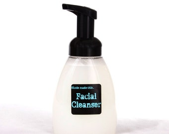 16 Ounce Refill for Naturally Derived Shea Butter Foaming Face Wash - Blended Fresh To Order For You