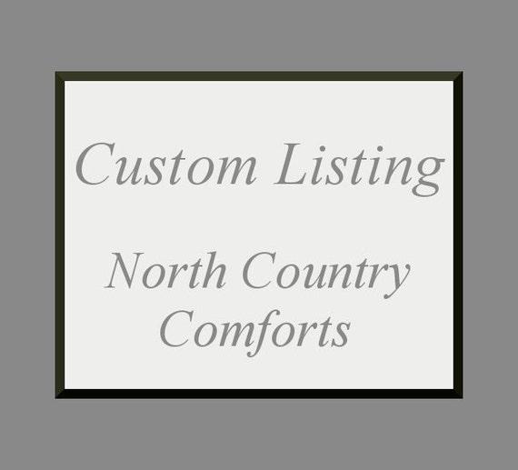 Custom Listing for Regan