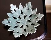 Ceramic Snowflake Bowl
