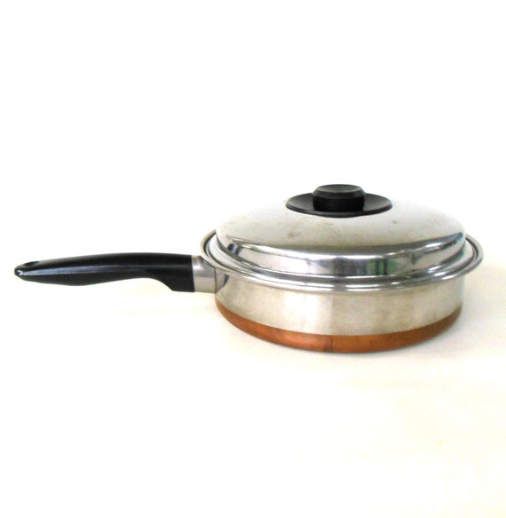 Prudential Ware Cookware Copper Clad Stainless 8 Skillet
