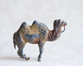 Iron Cast Camel - Antique Animal Toy Figurine - Made in England T & B