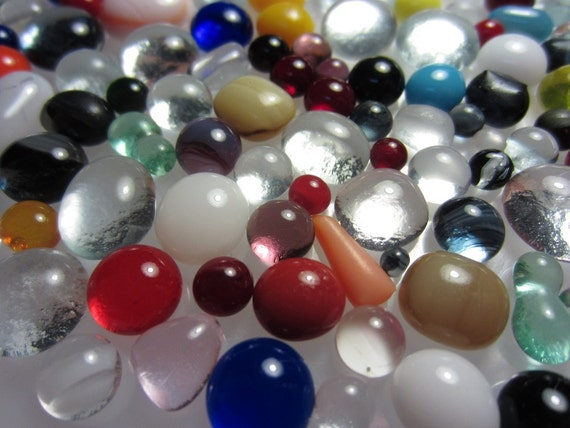 Sample Mix Kiln formed glass bubbles Pieces (B373)