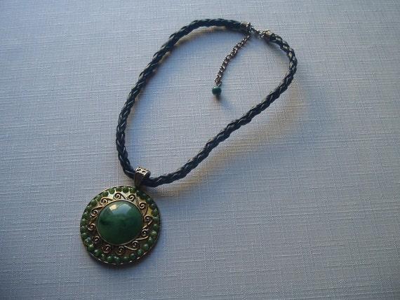 Art Deco Necklace/Vintage Necklace with Pendant