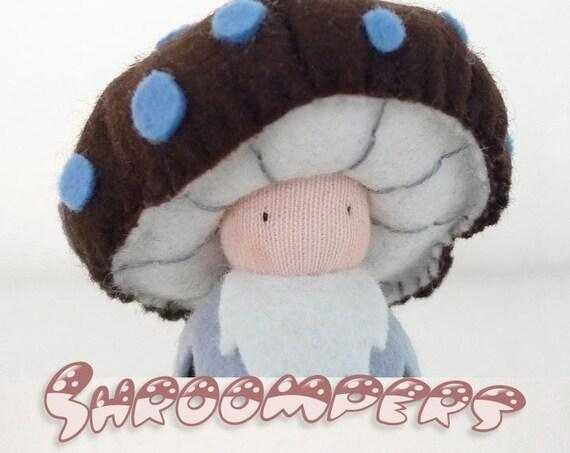 Handmade wool felt Mushroom Doll / King Boletus