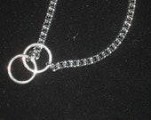7 3/4 Silver Chain Bracelet, Choke Chain