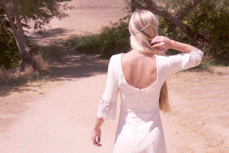 Vintage Inspired Wedding Dress Bridal Shower Rehearsal Dinner