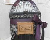 Birdcage Wedding Card Holder / Card Box / Wedding Birdcage Cardholder