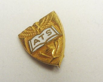Old ATS Pin with Eagle Design