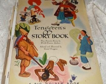 Tenggrens Story Book Gustaf Tenggren A Big Golden Book Vintage