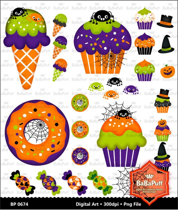 Items Similar To Instant Downloads, Halloween Party Food ...