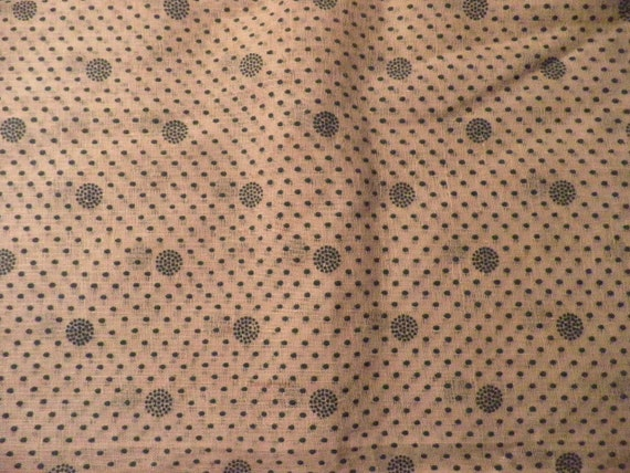 Vintage Flowered Sheer Gauze Cotton Curtain Fabric