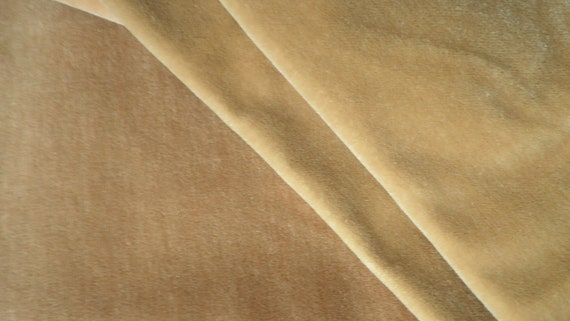 RESERVED FOR KITVintage Tan Mohair Fabric