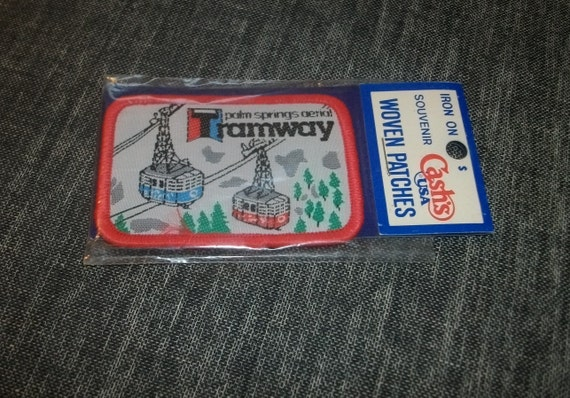 Vintage Palm Springs Aerial Tramway Iron on Patch
