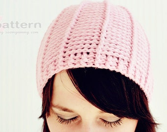 Crochet Pattern - Crocheted Cap / Beanie / Hat (Pattern No. 039) - INSTANT DIGITAL DOWNLOAD