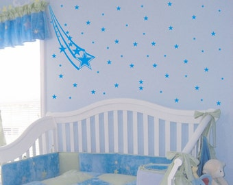 Shooting Stars wall decal removable sticker