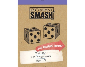 Smash Top Ten List Pad, K&Co., 30 sheets