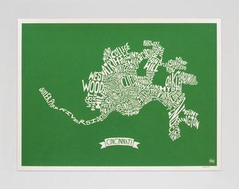 Cincinnati HoodMap (Green)