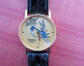 Bugs Bunny watch by ARMITRON (black band) LIMITED EDITION