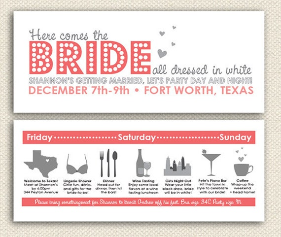 Printable Bachelorette Party Invitations is the best ideas you have to choose for invitation example