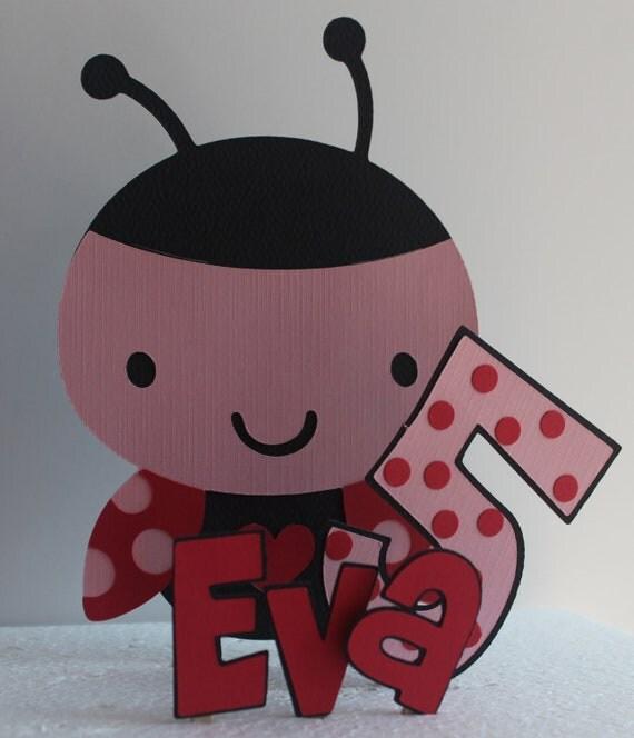 Lady Bug Cake Topper, ladybug party, ladybug baby shower decoration, ladybug baby shower, ladybug birthday
