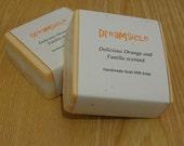 Dreamsicle Goat's Milk Soap