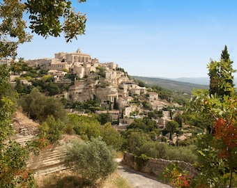 Provence photo, canvas or print, Gordes, France