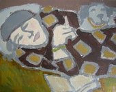 AUGUST SALE   The Woman in the Gray Beret