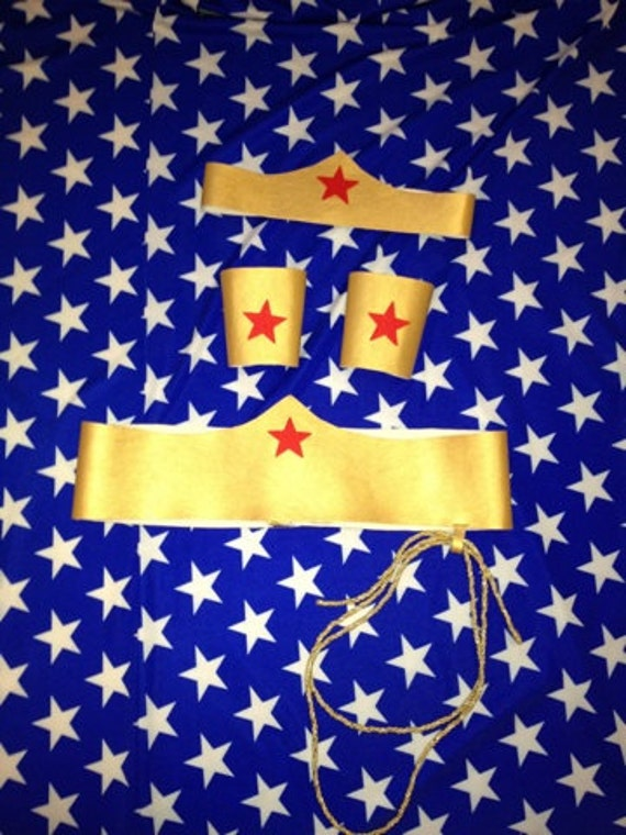 Wonder Woman Costume Accessories By Itsavglamour On Etsy