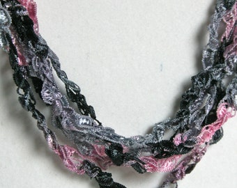 SALE  Dawn   - Crocheted Necklace