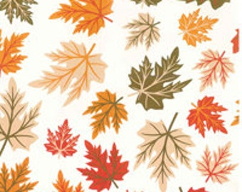 Fall / Autumn Leaves print tissue paper - Exclusive