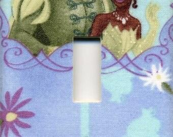 Disney Princess Tiana & Prince Naveen Single Light Switch Plate