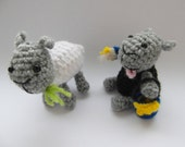 PATTERN ONLY - Painting Sheep - amigurumi - PDF instructions