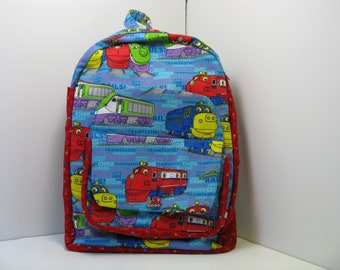 Chuggington Choo-Choo Preschool Backpack