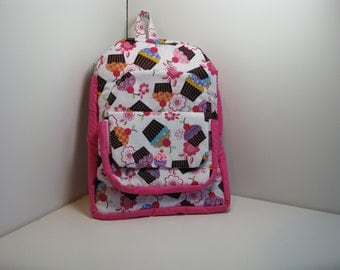 Cherry Cupcakes Preschool Backpack