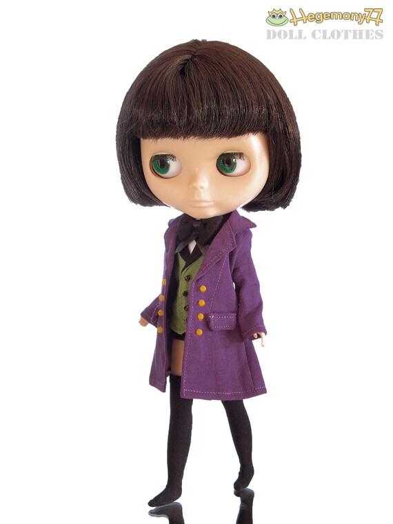 Blythe Dal Byul doll size Alois Trancy outfit set