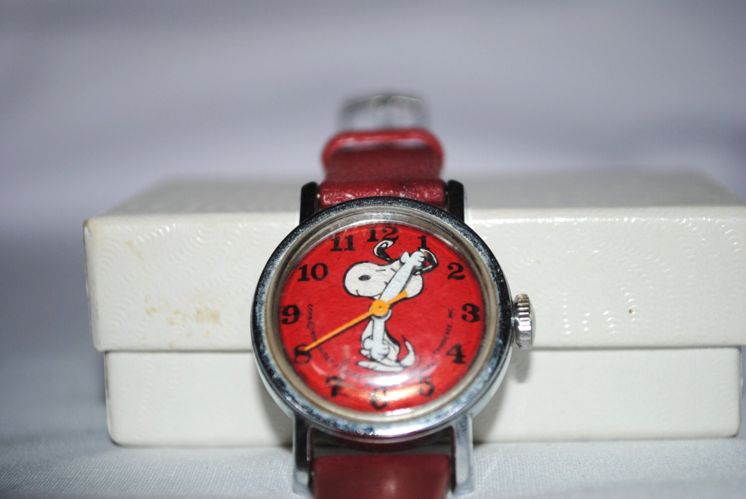 Vintage child snoopy watch reserved for cath for Snoopy watches