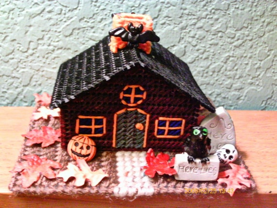 Haunted House miniature On Raven Lane OOAK