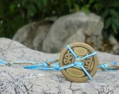 I Ching The Wheel of Life Water  Bracelet.