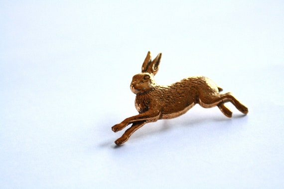 GOLD //// plated HARE Pin