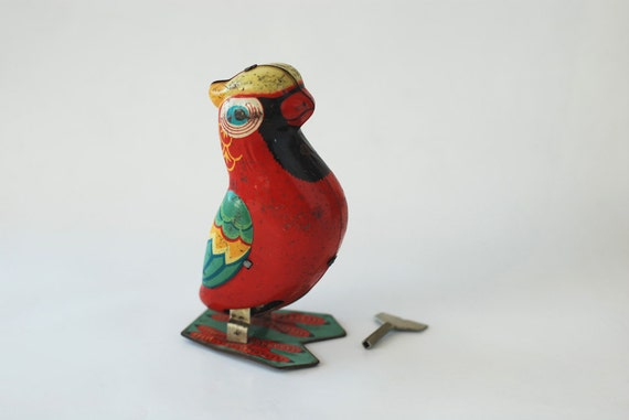 Wind up Metal Bird