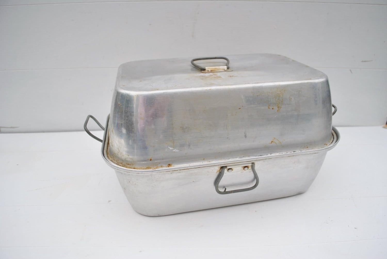 Vintage Aluminum Roasting Pan Wear Ever Brand By Cheryl12108