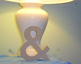 "Wooden Ampersand - Wood Ampersand - Wooden Symbol - Wood Symbol 3/4"" MDF multiple sizes - Wedding Sign"