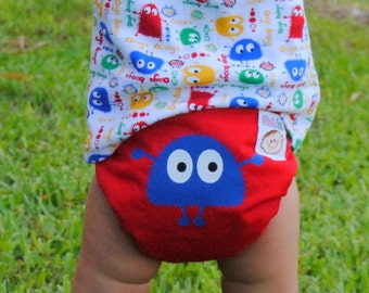 INSTANT DOWNLOAD Cloth Diaper Pattern Cloth Tots Pocket Diaper PDF Sewing Pattern make your own diapers