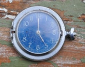 Vintage pocket watch case with movement and dial.MOLNIJA.