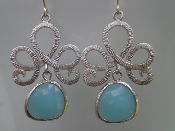 """Fleur De Lis Teardrop Earrings   TAKE 15% OFF use coupon code """"FIRECRACKER"""" at checkout to receive your discount"""