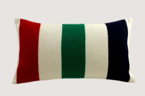 Decorative Pillow Case Pure Off White Green Red Black