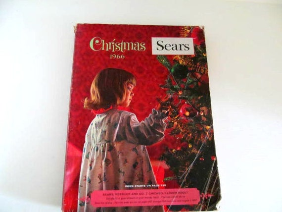 1960 Christmas Toys : Vintage sears wish book catalog s toy and clothing