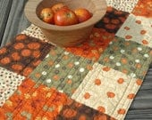 THANKSGIVING Table Runner - Shabby Chic Harvest Fabrics from Moda