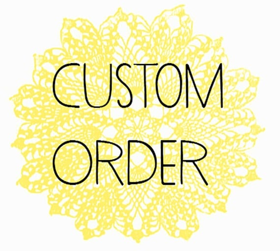 CUSTOM Order for NIKEATA